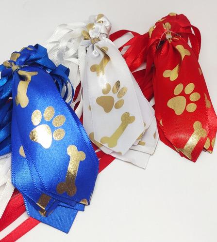 Kit Gravatas Pet Pra Cachorro Com 162 Und P, M E G