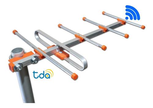 Antena Tda Exterior 5 Elementos, Largo Alcance!