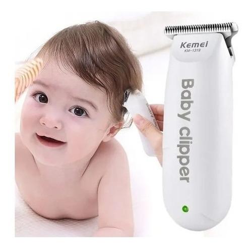 Maquininha Infantil Cortar Cabelo Criança Baby Bivolt Mini