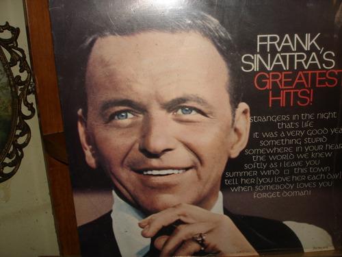 Disco De Vinilo Frank Sinatras Greatest Hits Sin Estrenar