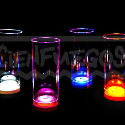 Vasos Led Cotillón Luminoso × 30 - Cienfuegos