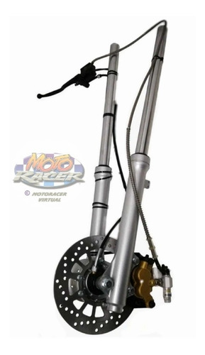 Disco De Freno Delantero Completo Yamaha Dt 125