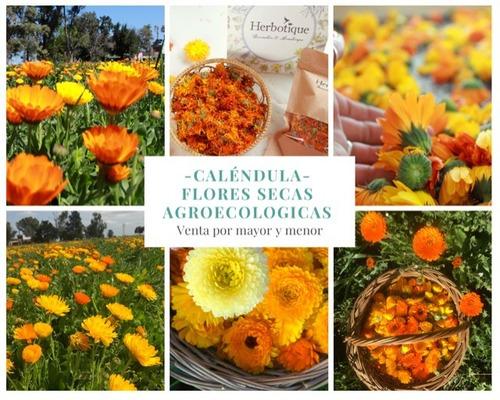 Flores De Caléndula Secas Agroecologicas. La Mejor Calidad!