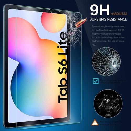 Samsung Tab S6 Lite 10.4 P610 Mica De Vidrio Templado Lamina