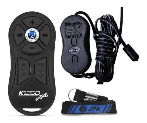 Kit Controle Longa Distância Jfa K1200 Preto + Barato Brasil