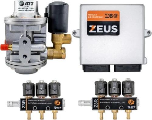 5ª Geração Igt Zeus V6 + Válvula Abast/ Valvula Cilindro
