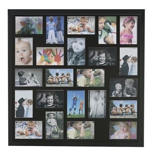 Painel 23 Fotos 10x15 Luxo Moldura Caixa Profundidade Parede