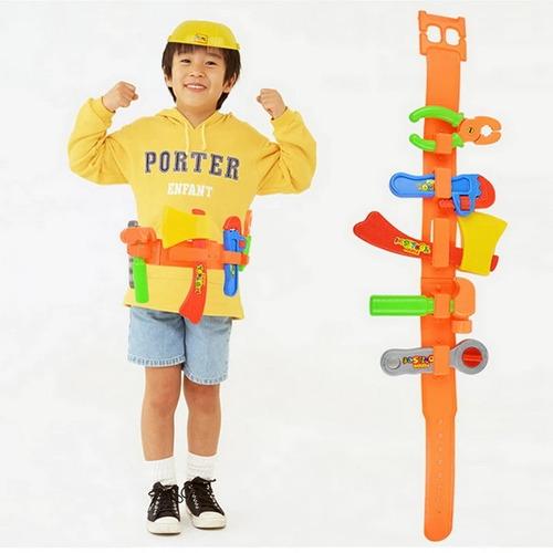 Cinturon Casco De Herramientas Set Juego Para Niños
