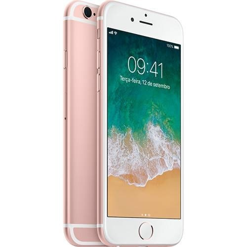 iPhone 6s 16 Gb Rose Gold Ram 2 Gb - Vitrine