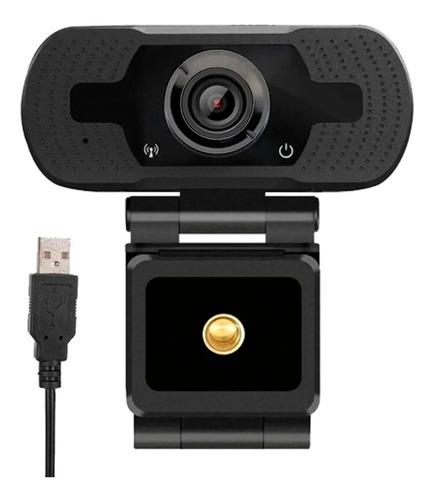 Webcam 1080p Full Hd Câmera Computador Microfone Embutido
