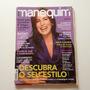 Revista Manequim Glória Pires Bb817