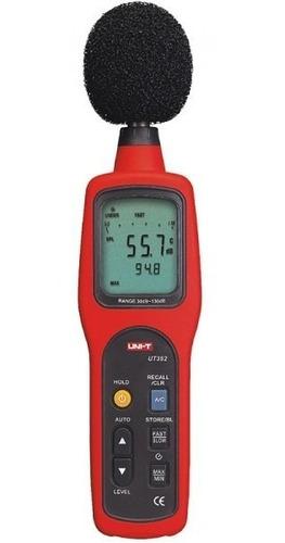 Decibelimetro O Sonometro Sonido 30-130 Decibeles Ut352