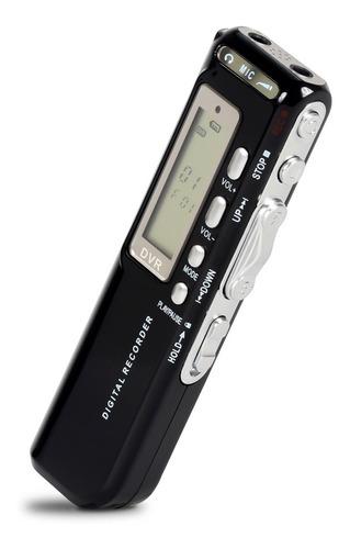 Gravador De Voz 8gb Digital Espião Gravação Profissional Mp3