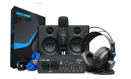 Kit Interface Presonus Audiobox 96 Ultimate 25th Ed. Novo Nf