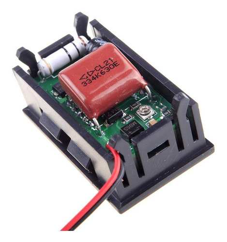 Voltímetro Digital Led 110/220v Ac Painel Energia