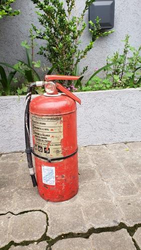 Extintor Antiguo Matafuego