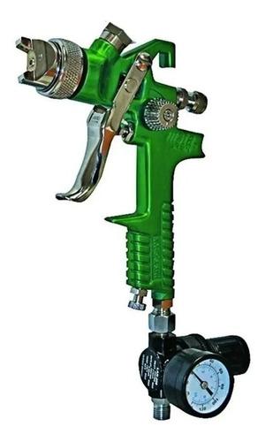 Pistola Soplete Pintar C/ Manómetro Mota P700 Hvlp Gravedad