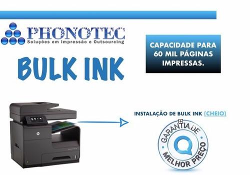 Instalação Bulk Ink Impressora Hp X476 X451 Tintas Profeel