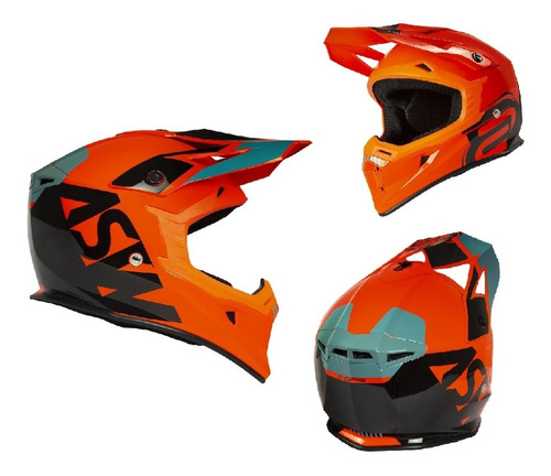 Capacete Asw Core Legacy 2021 Trilha Motocross Cores
