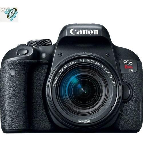 Canon Eos Rebel T7i Lente 18 55mm Is Stm