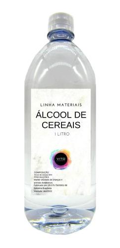 Álcool De Cereais Puro - 1 Litro