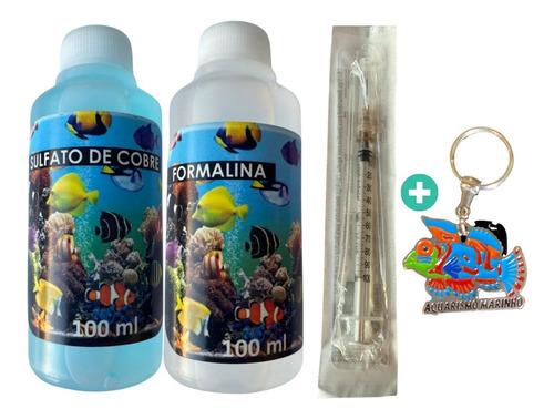 Kit Cupramine + Formalina 200+ Chaveiro Brinde +frete Grátis
