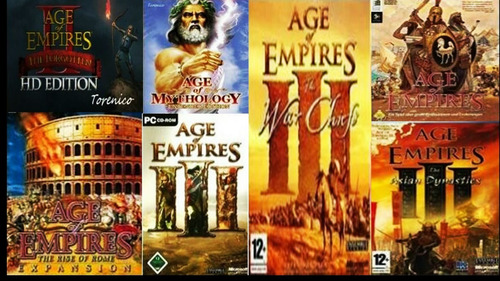 Age Of Empires Gold Edition + Age 2 + 3 + Expansiones Full