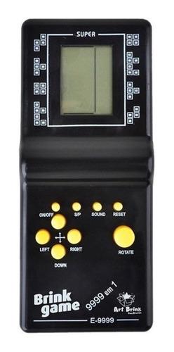Console Brick Game 9999 In 1 Standard Cor  Preto