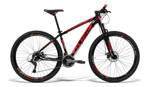 Bicicleta Alumínio Aro 29 Gts 21 Vel Freio A Disco Ride 17