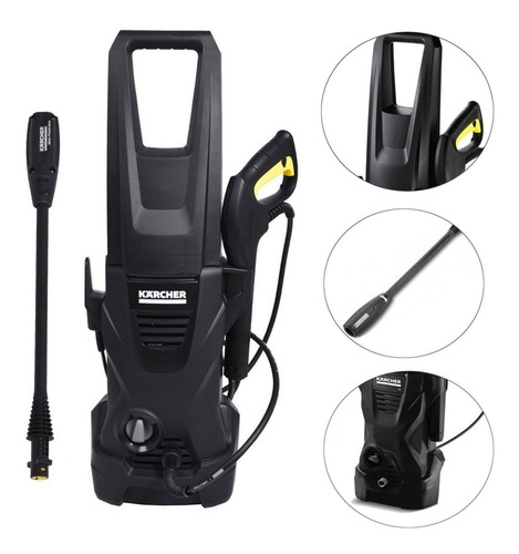 Lavadora De Alta Pressão K1 Karcher Black 1600 Lbs Exclusivo