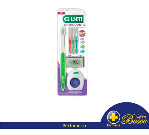 Gum Orthodontic Cepillo Dental + Kit Completo