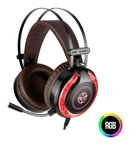 Headset Gamer Tgt Storm Led Rgb, Tgt-sto