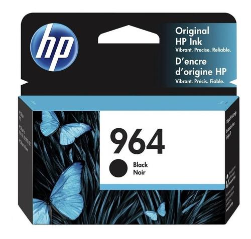 Cartucho Hp 964 3ja53al Officejet Pro 9020/9010 Negro Origin