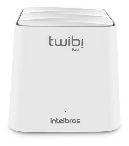 Roteador, Sistema Wi-fi Mesh Intelbras Kit Twibi Fast  Branco 2 Unidades