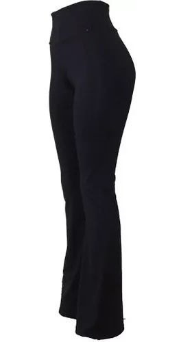 Calça Bailarina Flare Suplex Cintura Alta Plus Size Promoção