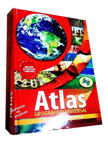 Libro Atlas Geográfico Universal Y Del Perú