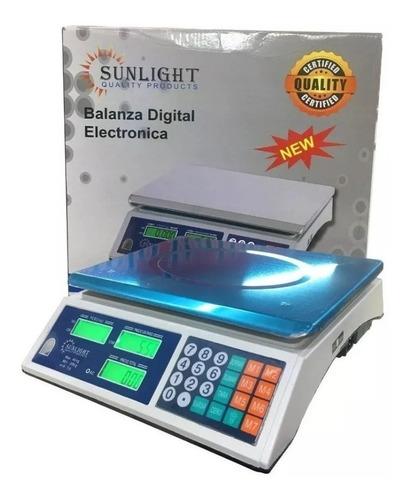 Balança Digital Eletrônica Comercial Bvolt 40kg Melhor Preço