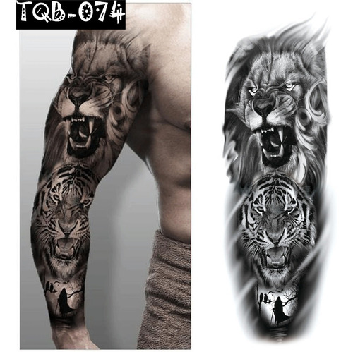 Tatuagem Fake Removível Tqb Importada Realista Barato Top