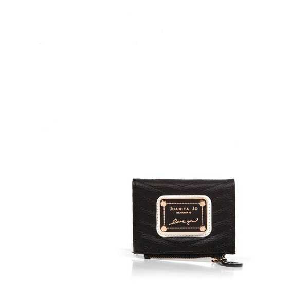 Billetera Juanita Jo Mini Brand (negro - 30044 )