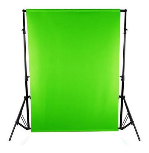 Fondo Infinito Croma Key Verde Tela 2x1.45 - Sin Estructura.
