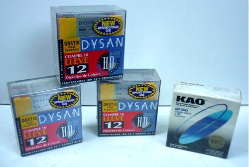 Lote De  Cajas Cerradas  Diskettes 3,5
