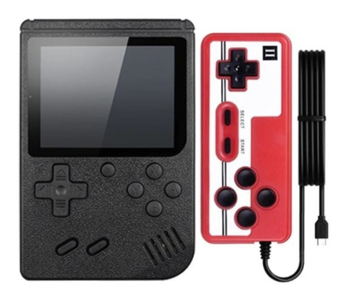 Mini Game Retrô Portatil 400 Jogos Antigos Anos 80 Console