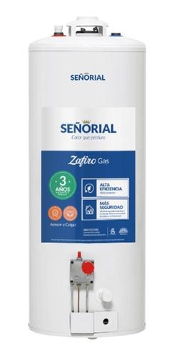 Termotanque Señorial Zafiro 85 Litros Multigas Natural