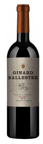 Vino Ginard Ballester Gran Reserva Malbec 2015