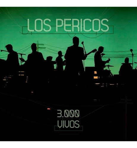 Pericos Los 3000 Vivos Cd X 2 Nuevo