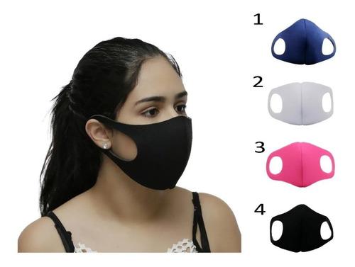 Kit 4 Mascara De Proteção Ninja Neoprene Promoção
