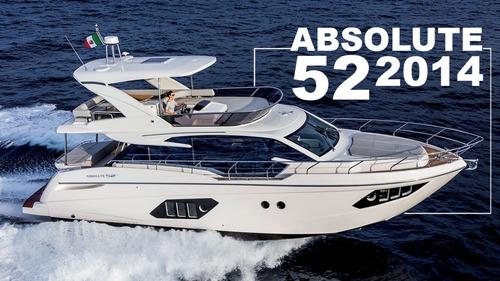 Absolute 52 2014 Intermarine Azimut Ferretti Full Phantom