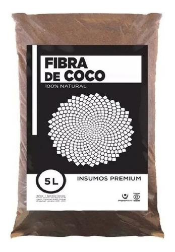 Fibra De Coco Orgánico Para Sustrato Bolsa 5 Litros Oferta