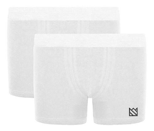Kit 2 Cuecas Boxer Micro Cotton Premium Elástico Novastreet