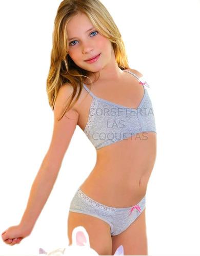 Conjuntos Nena Juveniles Maia Talle 6 Al 14 Varios Modelos
